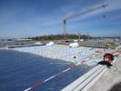Dachsanierungsarbeiten bei Diehl Aircabin in Laupheim