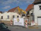 Rückbauarbeiten im Zentrum von Laupheim