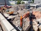 Rückbau eines Forschungsgebäudes bei der Firma Max Weishaupt in Schwendi