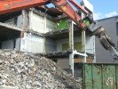 Rückbauarbeiten am Berufsschulzentrum in Radolfzell