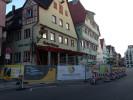 Entkernungsarbeiten am Gasthaus Roter Ochsen in Biberach
