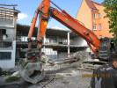 Rückbau eines Wohn- und Geschäftshauses in Singen