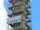 Rückbau eines Kamins bei ZF Lenksysteme GmbH in Schwäbisch Gmünd