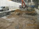 Rückbau Maschinenfundamente Industriehalle in Sachsenheim