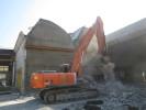 Rückbau einer Halle bei Grüner & Mühlschlegel Bauunternehmen in Biberach