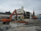 Rückbauarbeiten auf dem Betriebsgelände von Airbus Helicopters in Donauwörth