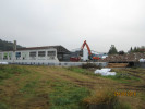 Rückbauarbeiten für den Neubau der Feuerwache in Tuttlingen