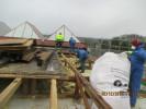 Entkernungsarbeiten am Illertal-Gymnasium in Vöhringen-Illerzell