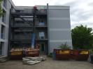 Entkernungsarbeiten Gebäude 2 Hochschule Polizei in Biberach