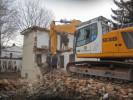 Rückbauarbeiten im Zentrum von München