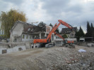 Rückbauarbeiten in der Hans-Kohlmann-Straße 4-8 in Nürnberg