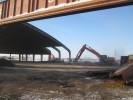Rückbau von Flugzeughallen beim BND in Gablingen