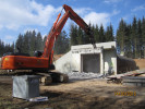 Rückbauarbeiten des ehem. Munitionsdepots in Lauchheim