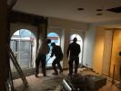 Entkernungsarbeiten am Modehaus Kolesch in Biberach