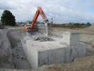 Rückbauarbeiten auf dem NATO-Flugplatz in Lagerlechfeld