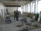 Entkernungsarbeiten am St. Elisabeth-Krankenhaus in Ravensburg